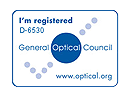 General Optical Council Registered